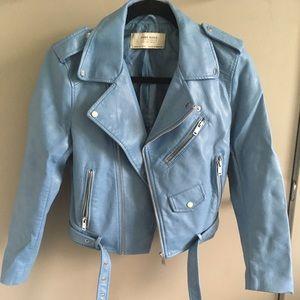Zara Sky Blue Jacket
